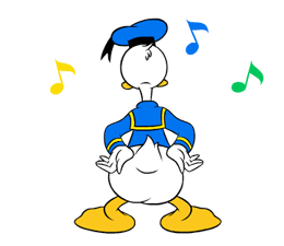 Donald Duck Stickers 18