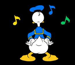 Donald Duck Наклейки 18