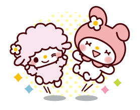 SANRIO CHARACTERS3 (Cartoons) Stickers 14