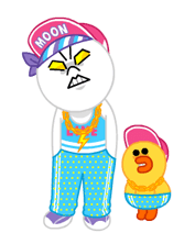 LINE Characters: Party Time Stickers 9