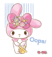 My Melody: Too Cute for You! Stickers 18