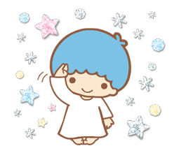 Little Twin Stars: Twinkly Stickers 19