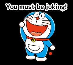 Doraemon: स्टिकर उद्धरण 19