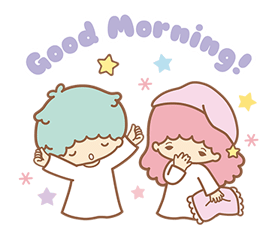 Little Twin Stars Sparkling Stickers 23