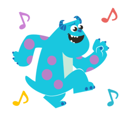 Monsters, Inc. Stickers 19