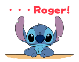 Stitch (Rowdy) Stickers