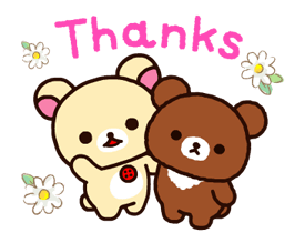 Rilakkuma~Korilakkuma with a new friend~ Stickers 19