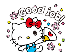 Hello Kitty's Quick Replies! Stickers 19