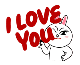 Brown & Cony's Thrilling Date Stickers 19