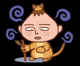 Chibi Maruko-nyan ਸਟਿੱਕਰ 19