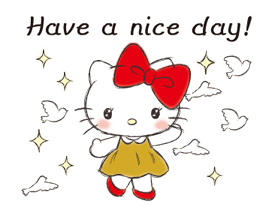 Hello Kitty Polite Stickers 19