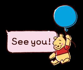 Winnie the Pooh Speech Balloons Stickers 19