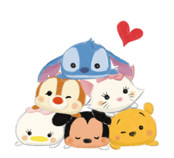 Disney Tsum Tsum Moves (Sakura Style) Stickers 19