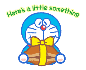 Doraemon & Dorami klistremerker 19
