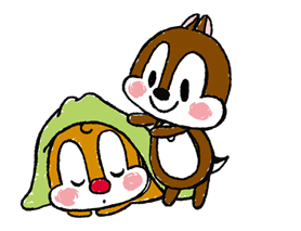 Chip 'n' Dale: Pegatinas adecuadamente lindo 19