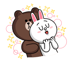 LINE Characters: Burning Emotion Stickers 19