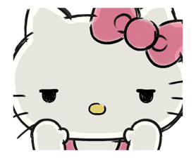 Hello Kitty's Daily Cuteness Stickers 19