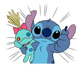 Stitch & Scrump Stickers 19