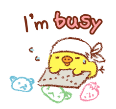 Rilakkuma ~ Kiiroitori Diary ~ Autocollants 19