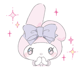 LARME x My Melody Stickers 19