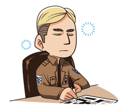 Attack on Titan Stickers 19