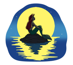 The Little Mermaid Stickers 19