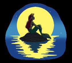 Little Mermaid ਸਟਿੱਕਰ 19