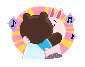 LINE Characters: Party Time Stickers 10