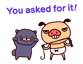 PANPAKA PANTS 4: Talking Mr. Dance Pants Stickers 19