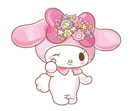 My Melody: Too Cute for You! Stickers 19
