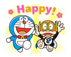 Doraemon on the Job Stickers