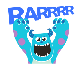Monsters, Inc. Stickers 23