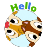 Chip 'n' Dale Summer Delight Stickere 2