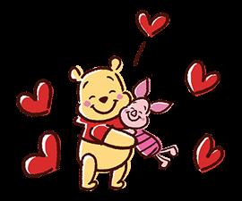 Winnie the Pooh Adesivi 2