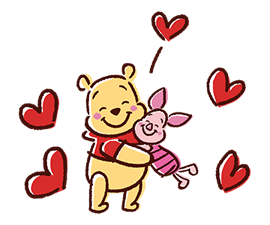 Winnie Pooh Naljepnice 2