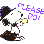 Snoopy in Disguise Stickers 2