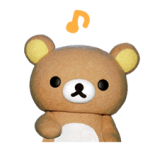 Rilakkuma Movie klistremerker 24