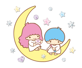 Little Twin Stars: Twinkly Stickers 2