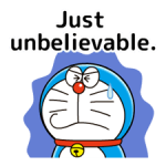 Doraemon: Quotes Stickers 2