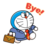Doraemon op de Baan Stickers 2