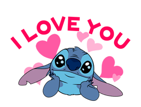 Stitch (Rowdy) Stickers 2