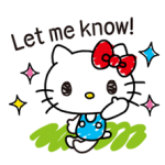 Hello Kitty's Quick Antwoorden! stickers 2