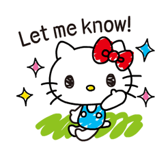Hello Kitty's Quick Replies! Stickers 2