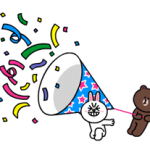 Brown et Cony Fun Stickers Pack Taille 2