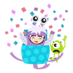 monsters, Inc. stickers 2