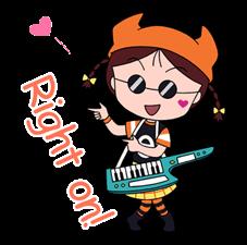 Chibi Maruko Chan: Rock 'n' Roll pelekat 2