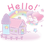 Little Twin Stars: Dreamy Stickers 13