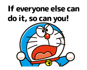 Adages Stickers Doraemon 2