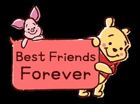 Winnie the Pooh Speech Balloons Stickers 2