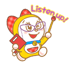 Doraemon & Dorami klistremerker 2